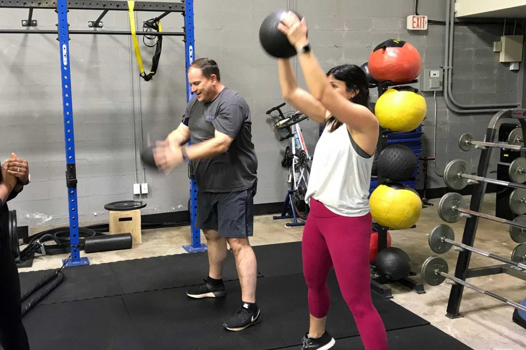 Personal Edge Fitness Weight ball Rehab