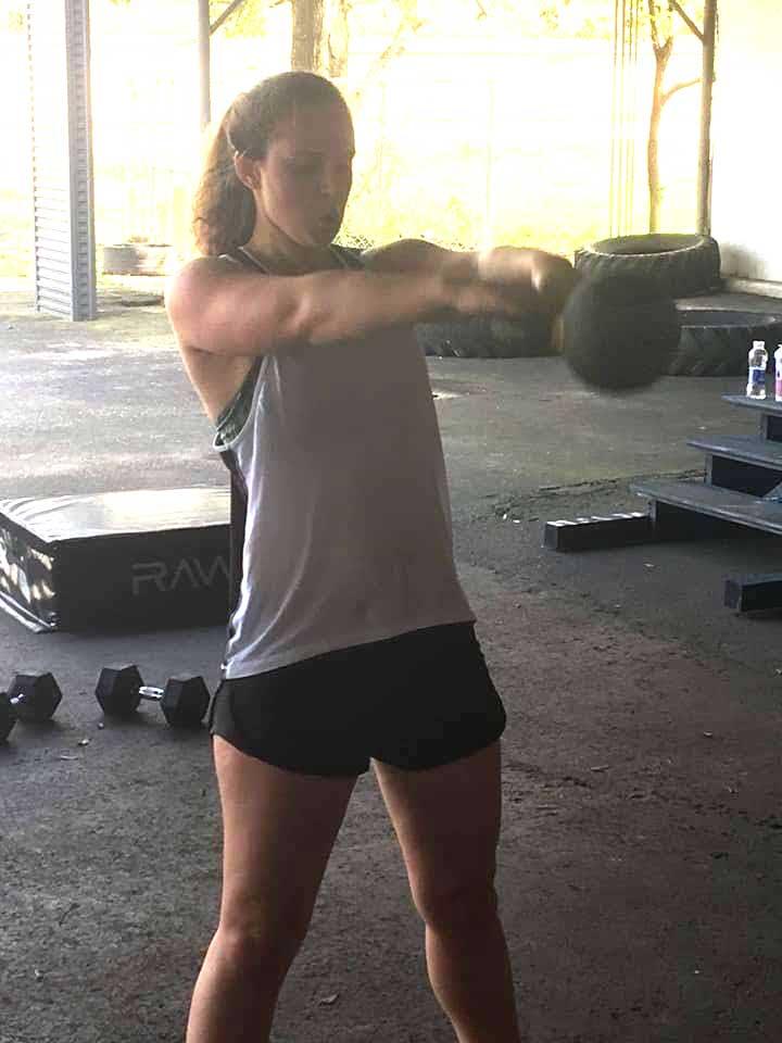 strength training kettle bell